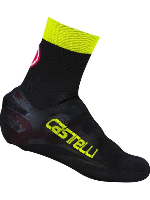Castelli Belgian 5 Bootie black/yellow fluo